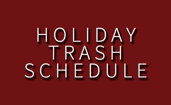 news flash trash schedule
