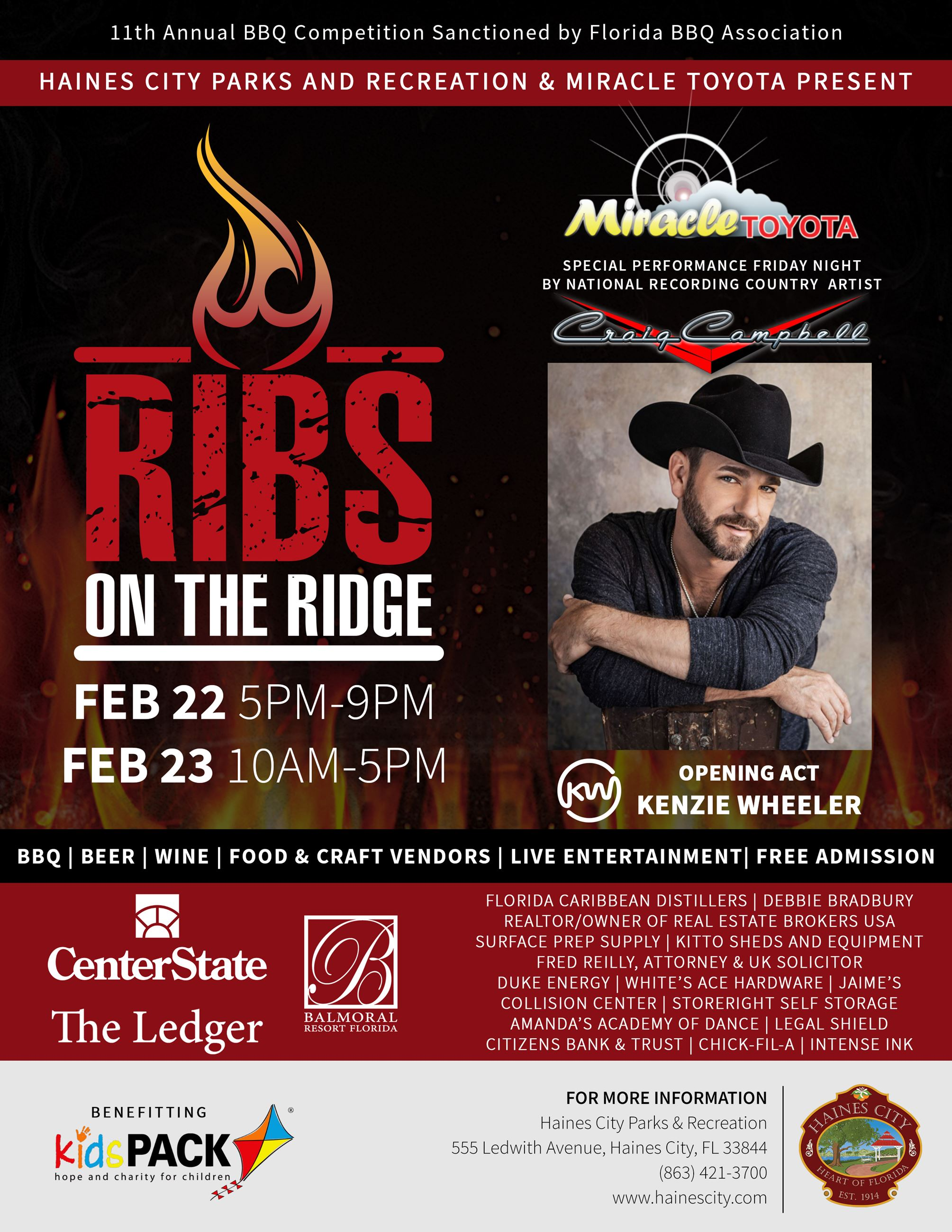 Ribs on the ridge 2019 flyer (image)